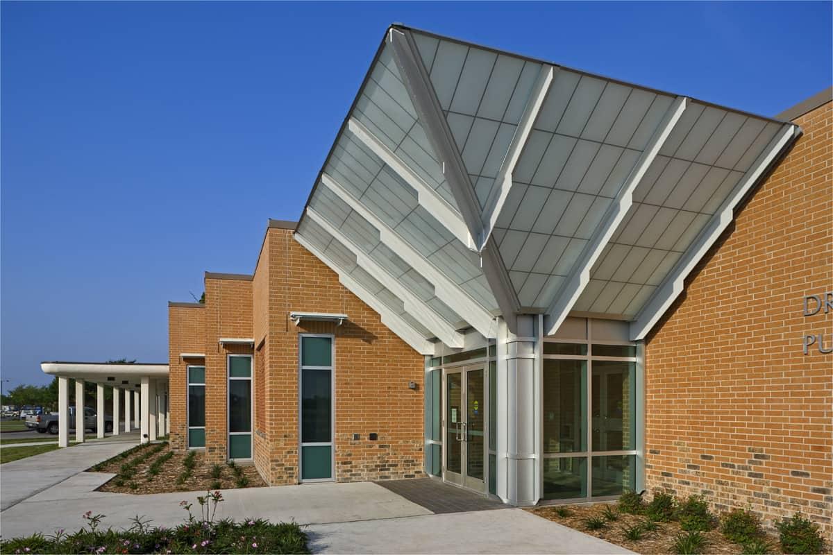 Dr Clotilde Garcia Library 187 Wkmc Architects