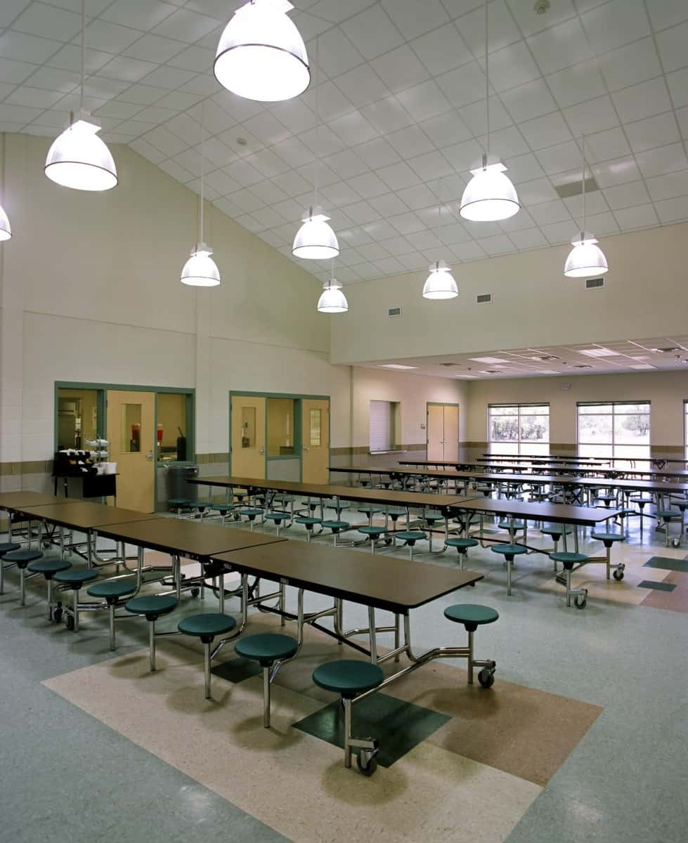 36 Fabulous Home Libraries Showcasing Window Seats: Cuero ISD Jr. High School » WKMC Architects
